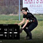 Girls Varsity Softball beats Jackson-Milton Local 12 – 5
