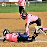 Girls Varsity Softball falls to Mcdonald 5 – 2