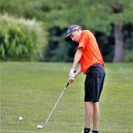 Boys Varsity Golf beats Mathews 182 – 224