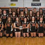 Girls 7th Grade Volleyball beats Springfield Local 2 – 0