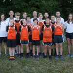 Boys Middle School Cross Country finishes 12th place at Billy Goat Invitational
