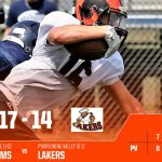 Boys Varsity Football beats Pymatuning Valley 17 – 14