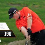 Boys Varsity Golf beats Badger 190 – 241