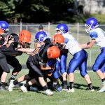 Boys Middle School Football beats Jackson-Milton Local 16 – 6