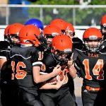 Boys Middle School Football ties Mcdonald 26 – 26