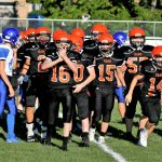 Boys Middle School Football falls to Springfield Local 24 – 22