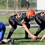 Boys Middle School Football falls to Western Reserve 24 – 0