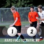 Boys Varsity Soccer falls to Maplewood 2 – 1