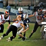 Boys Varsity Football falls to Lowellville 28 – 20