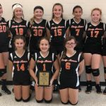 Girls 7th Grade Volleyball Advances to the Finals