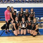 Girls 8th Grade Volleyball Takes 3rd at the MVAC