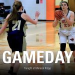 Tonight's Girl's Basketball Game is Home vs Lowellville