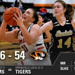 Girls Varsity Basketball falls to Springfield Local 54 – 46