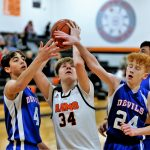 Boys 8th Grade Basketball beats Western Reserve 23 – 20