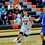 Boys 8th Grade Basketball falls to Lowellville Local 33 – 19