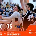 Boys Varsity Basketball falls to Mcdonald 75 – 60
