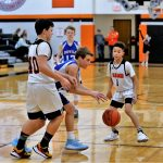 Boys 7th Grade Basketball beats Waterloo 25 – 17