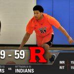 Boys Varsity Basketball beats Rittman 69 – 59