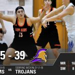Girls Varsity Basketball beats Sebring McKinley 65 – 39