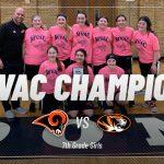 Girls 7th Grade Basketball beats Springfield Local 20 – 17 to capture the MVAC Championship