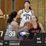 Girls Varsity Basketball beats Hubbard 57 – 39
