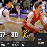 Boys Varsity Basketball falls to Champion 80 – 57