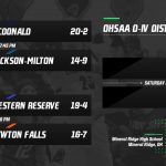 OHSAA Girl's D-IV Tournament at Mineral Ridge
