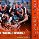 Rams 2020 Footbal Schedule
