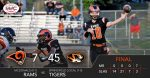 Boys Varsity Football falls to Springfield Local 45 – 7