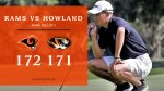 Boys Varsity Golf falls to Howland 171 – 172