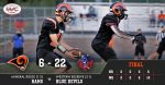 Boys Varsity Football falls to Western Reserve 22 – 6