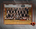 Girls 8th Grade Volleyball beats Western Reserve 2 – 0