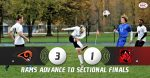 Boys Varsity Soccer beats Lordstown 3 – 1; Advance to Play Columbiana