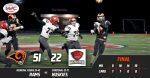 Boys Varsity Football beats Cardinal 51 – 22