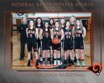 Girls 8th Grade Basketball beats Lowellville Local 25 – 15