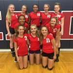 Scottsdale Christian Academy Girls Middle School Volleyball Varsity beat Chandler Prep 2-0