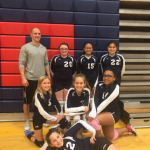 Scottsdale Christian Academy Girls Middle School Volleyball JV 2 beat Chandler Prep 2-1