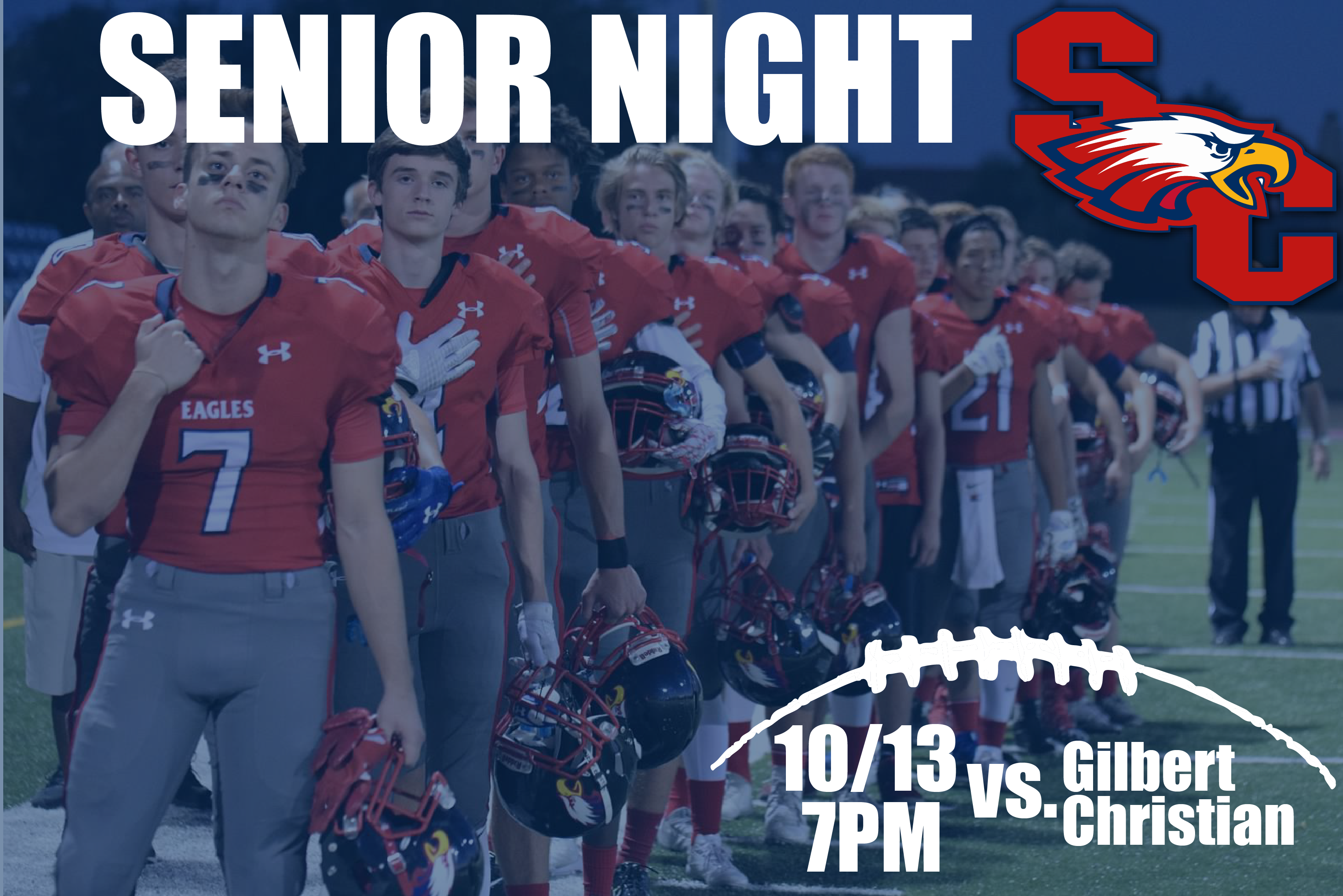 This Friday is Fall Athlete Senior Night!