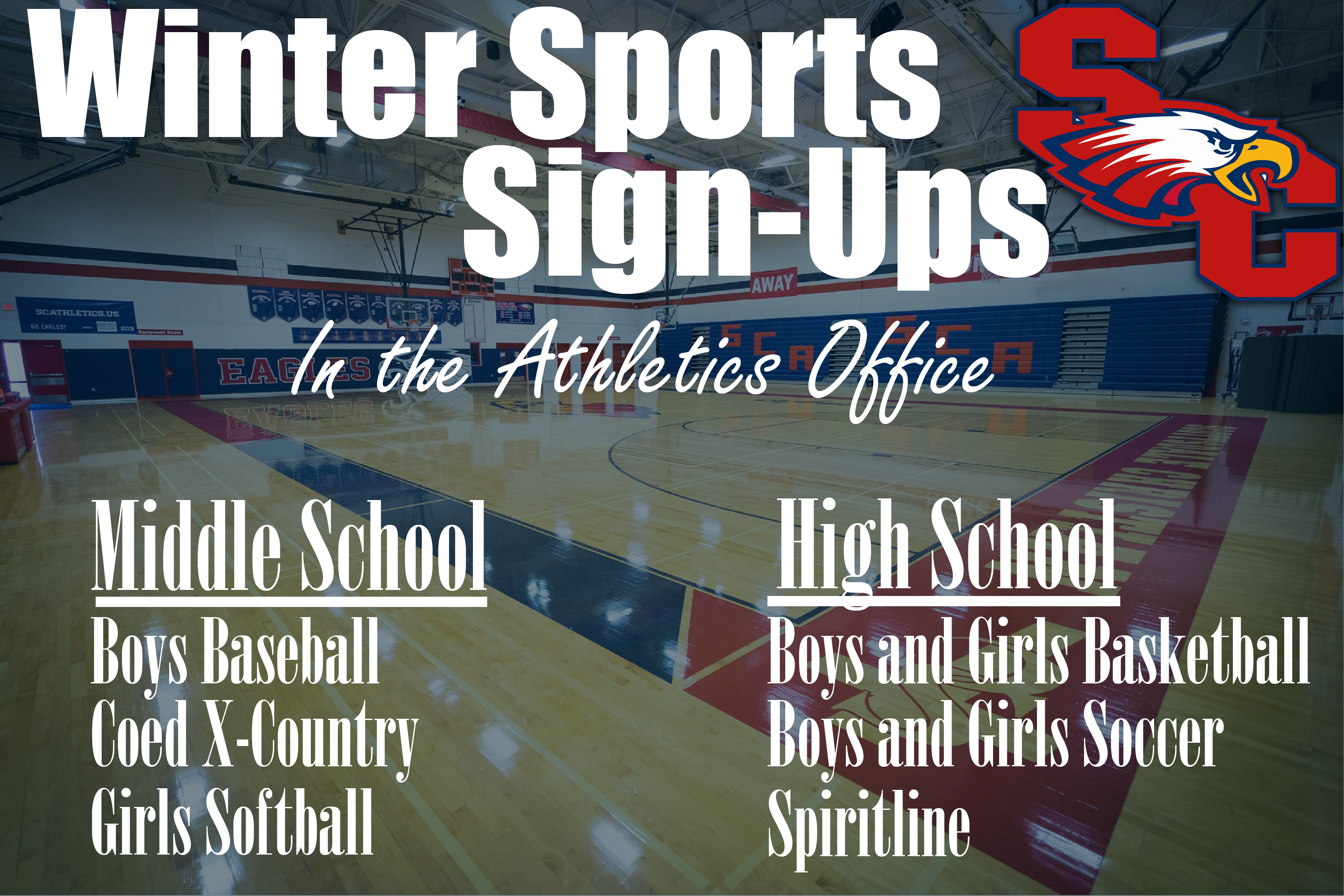 Winter Sports Sign-Ups!