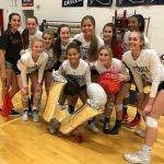 Girls Varsity Volleyball beats Bourgade Catholic 3 – 0