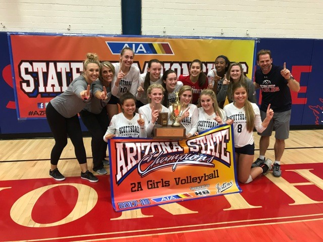 SCA Girls Volleyball Wins 2A State Championship!