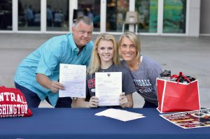 Signing Day for Lexi Schamadan