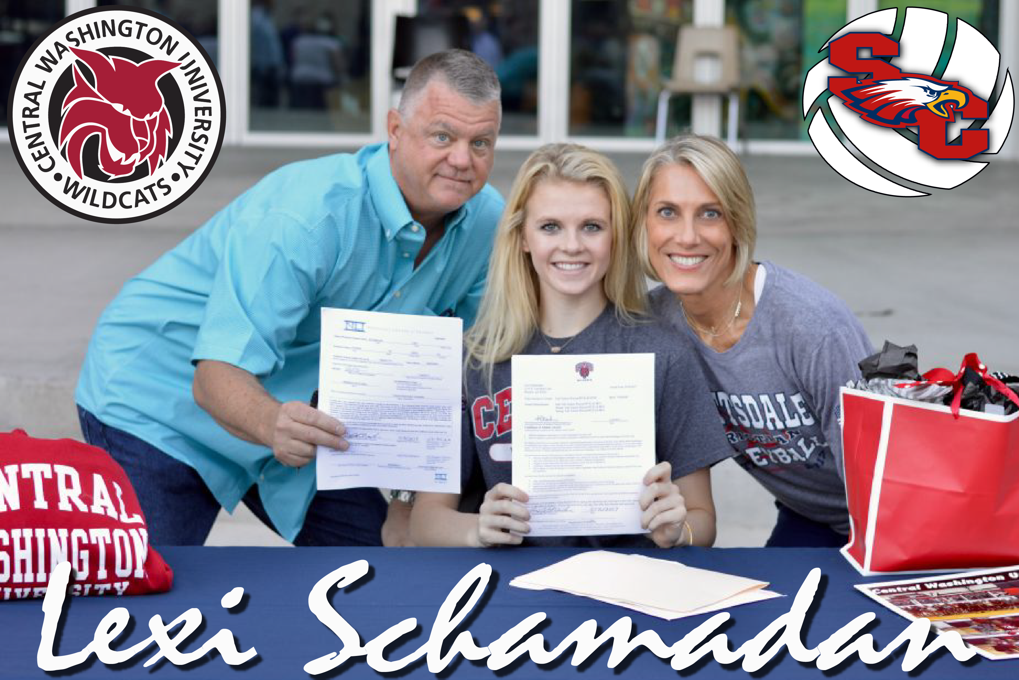 Lexi Schamadan Signs with Central Washington University!