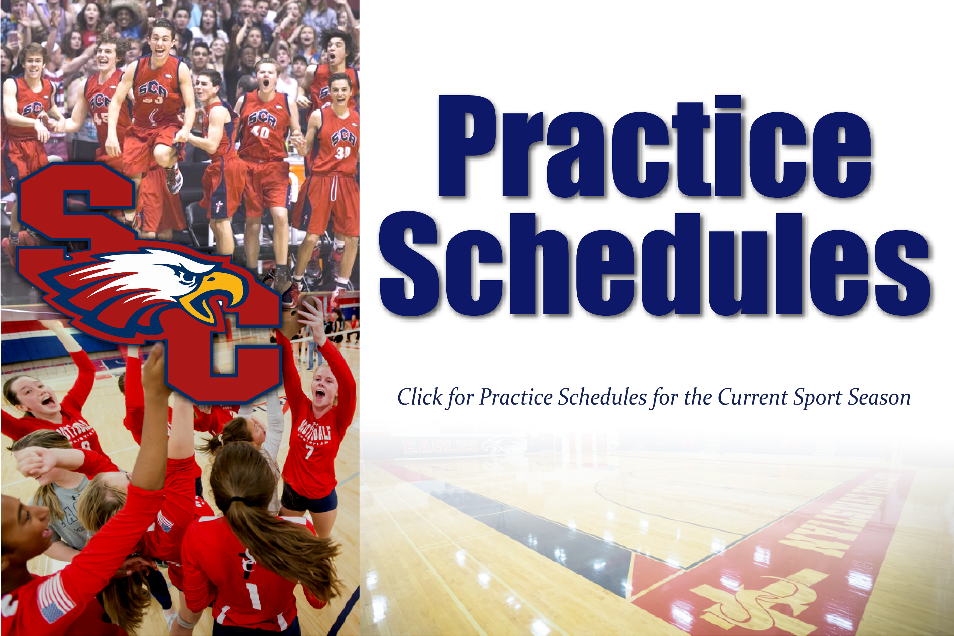 Click Here for Practice Schedules