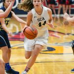 Girls Varsity Basketball beats Gilbert Christian 41 – 39