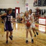 Girls Middle School JV Basketball falls to Trinity Lutheran 28 – 7