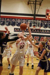 Photos: SCA Middle School Varsity Girls vs Northwest, March 6, 2018