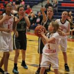 Girls Middle School JV Basketball falls to Fountain Hills 32 – 11