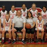 Girls Middle School JV Basketball falls to Trinity Lutheran 28 – 10