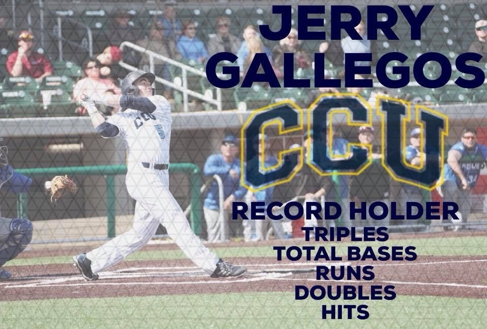 Former SCA Baseball Player Gallegos Earns RMAC First Team Honors